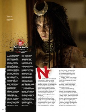 Suicide Squad makala in Empire Magazine [5]