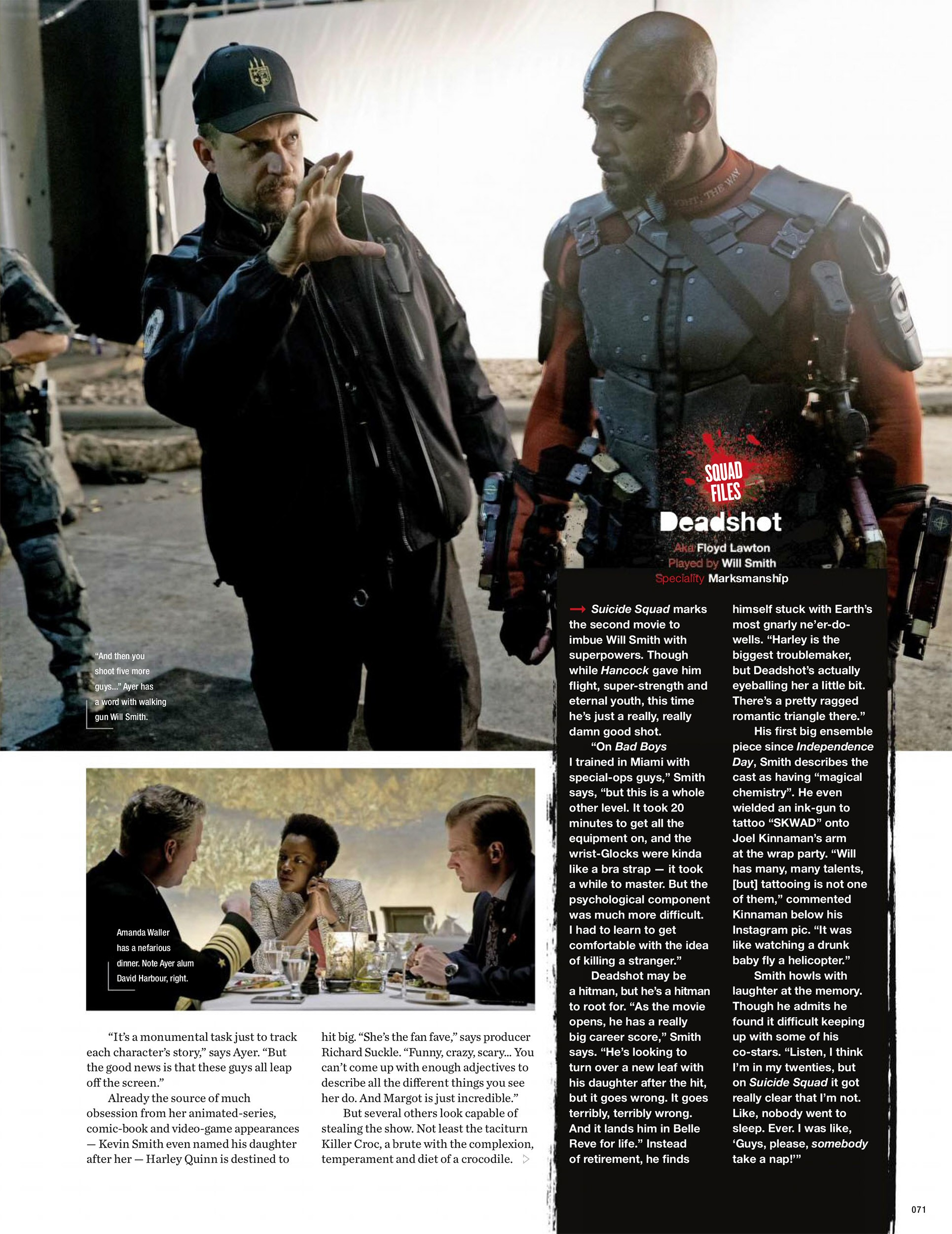 Suicide Squad Article in Empire Magazine [6]