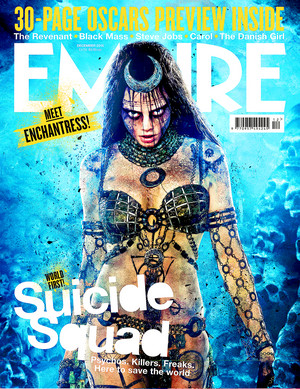 Suicide Squad - Edited Empire Magazine Cover - Cara Delevingne as Enchantress