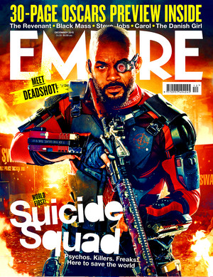 Suicide Squad - Edited Empire Magazine Cover - Will Smith as Deadshot