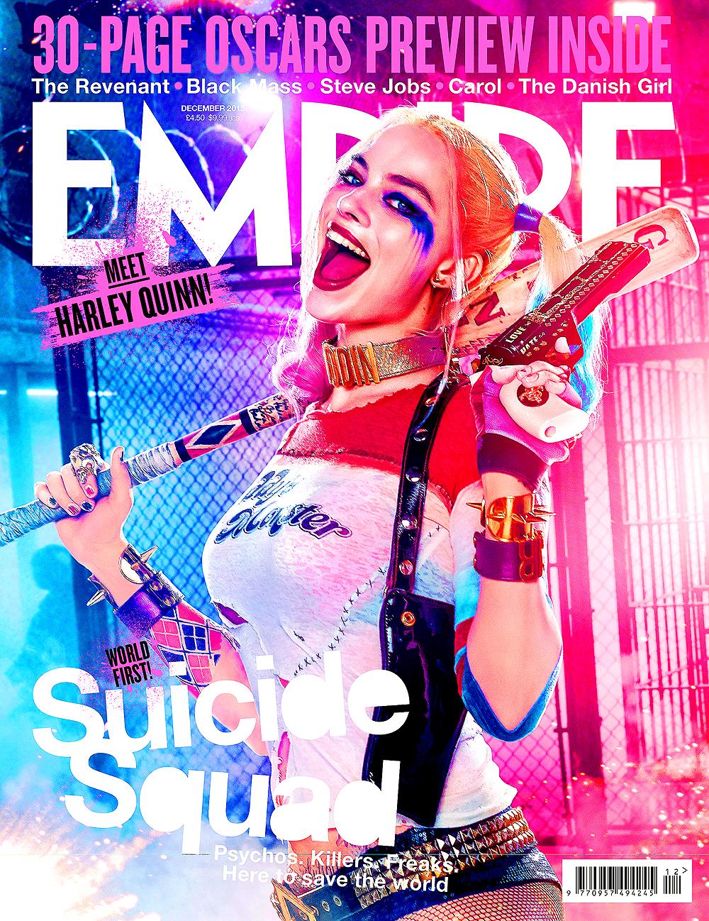 Suicide Squad - Edited Empire Magazine Cover -