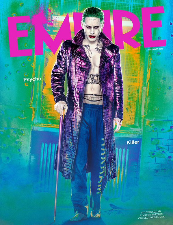 Empire Magazine Collector's Edition Cover featuring Jared Leto as The Joker - DEC 2015