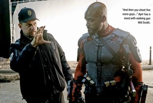 Suicide Squad Stills - David Ayer and Will Smith as Deadshot