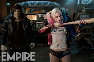 Suicide Squad Stills - Killer Croc and Harley Quinn