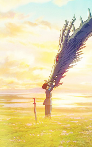 Tales from Earthsea phone backgrounds
