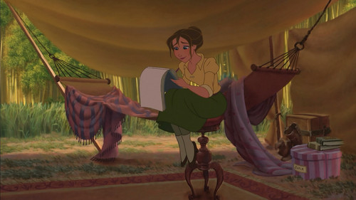 Jane Porter achtergrond probably containing a circus tent and a meteorological balloon called Tarzan 1999 BDrip 1080p ENG ITA x264 MultiSub Shiv .mkv snapshot 00.51.23 2014.08.21 10.03.22