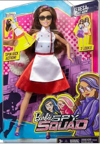 芭比 电影 壁纸 containing 日本动漫 entitled Teresa Spy Squad Doll
