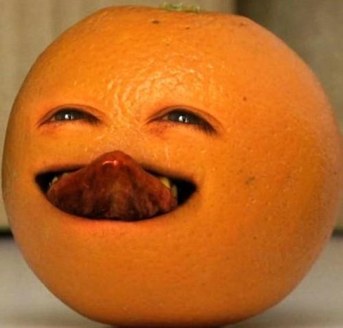 The Annoying Orange wallpaper entitled The Annoying Orange