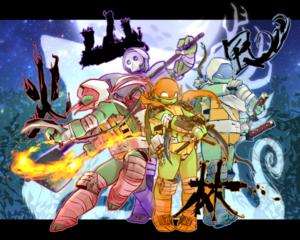 The Four New Shinobi