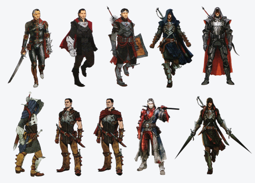 Dragon Age Origins Wallpaper Probably Containing A Breastplate And Rifleman Entitled The Inquisitor Concept