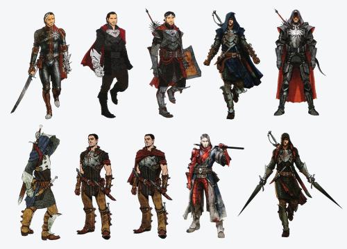 Dragon age inquisition concept art cullen