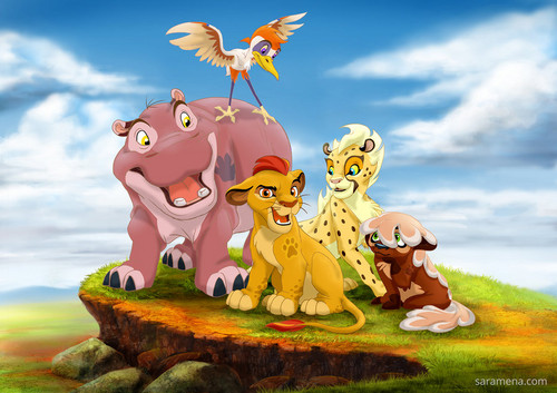 The Lion King wallpaper entitled The Lion Guard