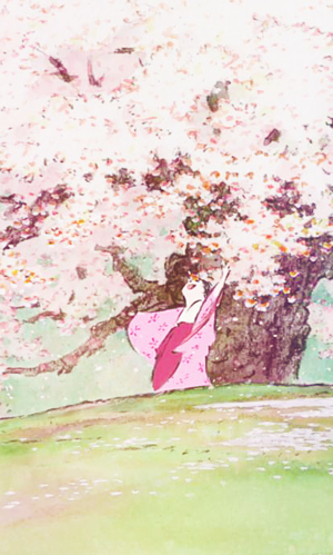 The Tale of The Princess Kaguya phone background