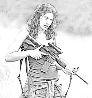 The Walking Dead - Coloring Pages - Alisha
