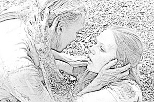 The Walking Dead - Coloring Pages - Amy and Andrea
