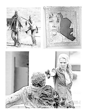 The Walking Dead - Coloring Pages - Andrea
