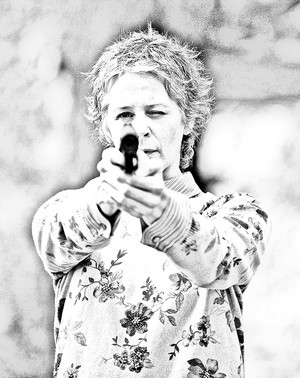 The Walking Dead - Coloring Pages - Carol