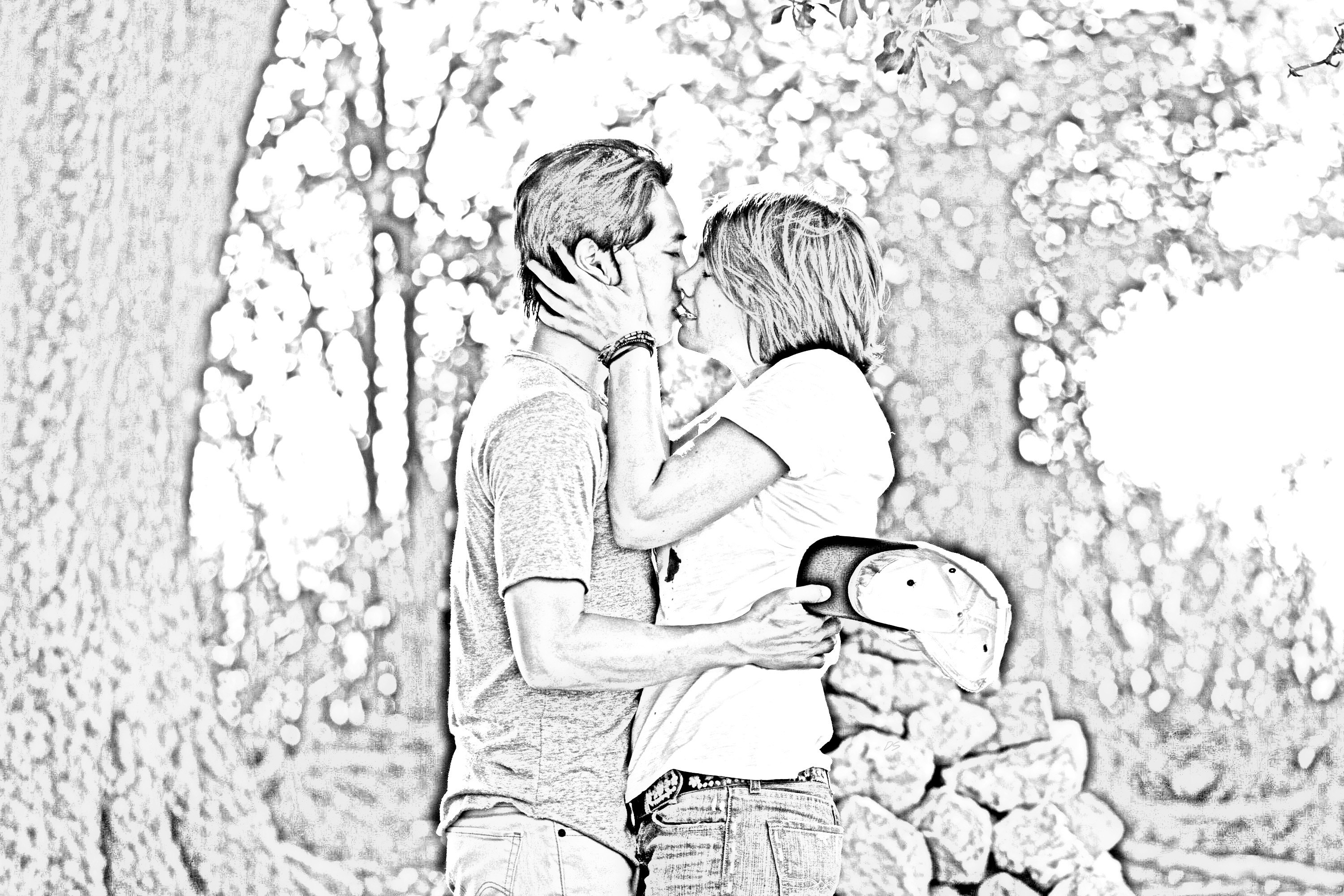 The Walking Dead - Coloring Pages - Glenn and Maggie