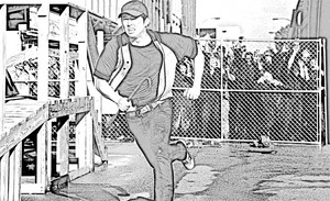 The Walking Dead - Coloring Pages - Glenn