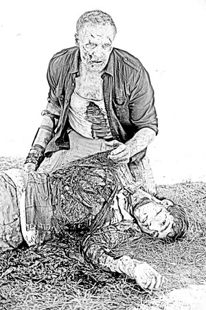 The Walking Dead - Coloring Pages - Merle