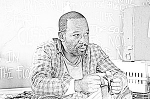 The Walking Dead - Coloring Pages - morgan