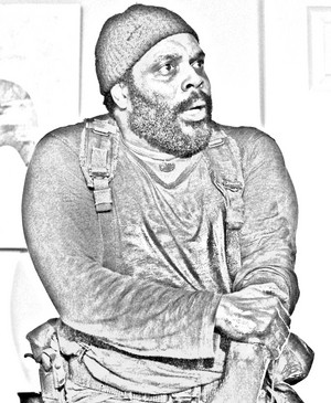 The Walking Dead - Coloring Pages - Tyreese