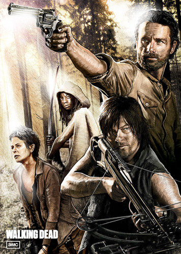 Walking Dead fond d'écran possibly containing animé titled The Walking Dead