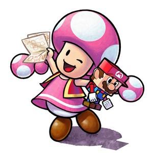 Toadette (Mario and Luigi: Paper Jam)