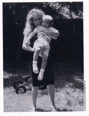 Tyler Lambert with mother actress Dana Plato
