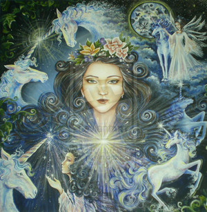 Unicorn Fairy by maya mayan