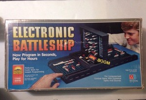 Vintage 1982 Electronic Battleship