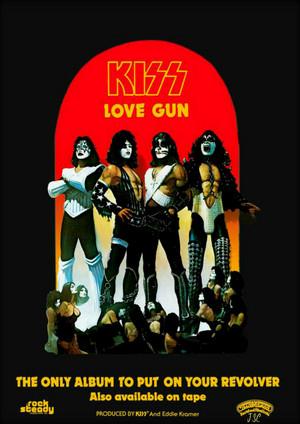 Vintage Love Gun Ad 1977