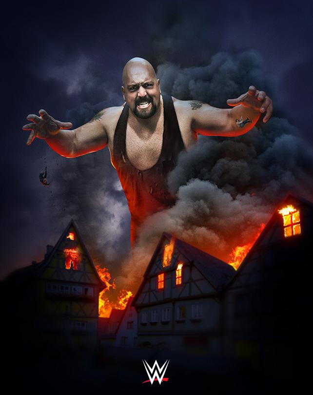 WWE's Monsters of the Mat - Big tunjuk