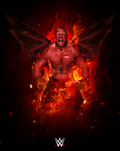 WWE wallpaper titled WWE's Monsters of the Mat - Brock Lesnar