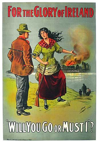 WWI Irish war propaganda