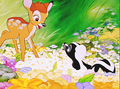 Walt Disney Screencaps - Bambi & Flower
