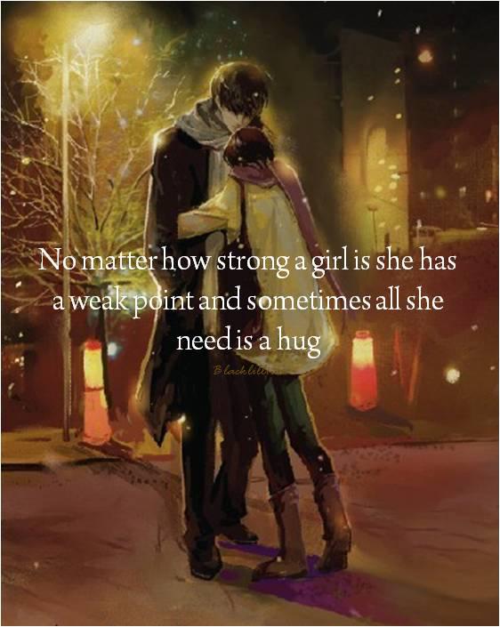 A woman weak point of Human weak