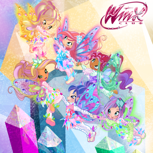 Winx Club fond d'écran entitled Winx Tynix