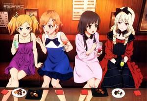 Yano, Aoi, Ema and Ogasawara