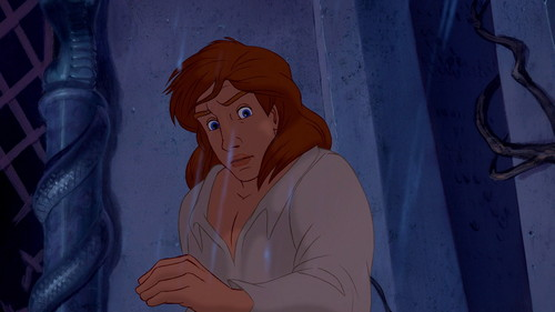 Prince Adam 壁纸 containing a chainlink fence entitled beauty and the beast disneyscreencaps.com 9640