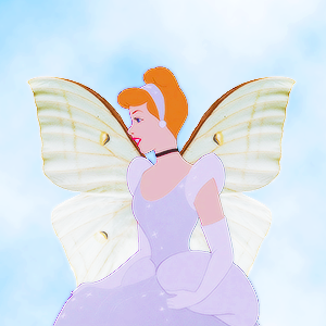 cinderella as a butterfly