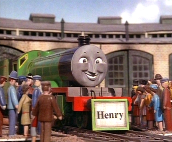 Crosseyed Henry Thomas The Tank Engine Photo 38914007