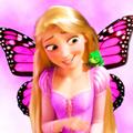 disney princesses as butterflies - disney-princess fan art