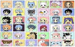 fairy tail chibi wallpaper v1 oleh jabesong d61irx0