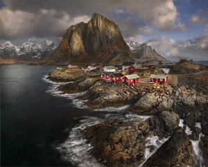 fishing village in Norway