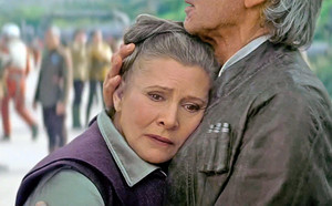han and leia force awakens