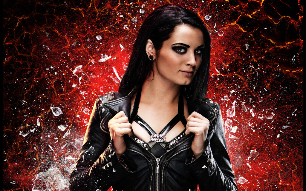 hot WWE diva paige new hd kertas dinding download 1024x640