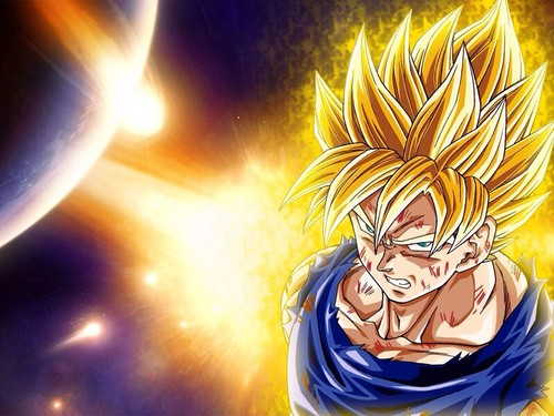 Dragon Ball Z wallpaper probably with anime called image