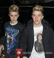 john grime (right) and edward grime (left) from jedward wears a shirt of michael jackson - justin-bieber photo