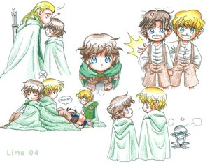 kawaii little hobbits